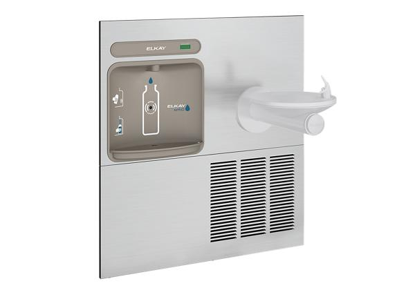 Image for Elkay EZH2O Retrofit Bottle Filling Station with SwirlFlo Fountain, Non-Filtered 8 GPH Stainless from Elkay Latin America