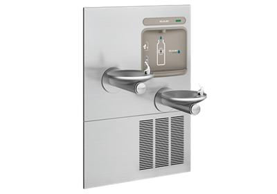 Image for Elkay EZH2O Bottle Filling Station with Integral SwirlFlo Fountain, Refrigerated Non-Filtered Stainless from ELKAY
