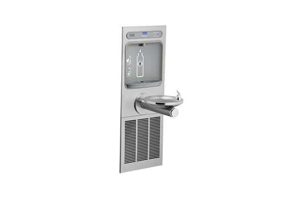 Image for Elkay EZH2O Bottle Filling Station with Integral SwirlFlo Fountain, Refrigerated Non-Filtered Stainless from Elkay Latin America