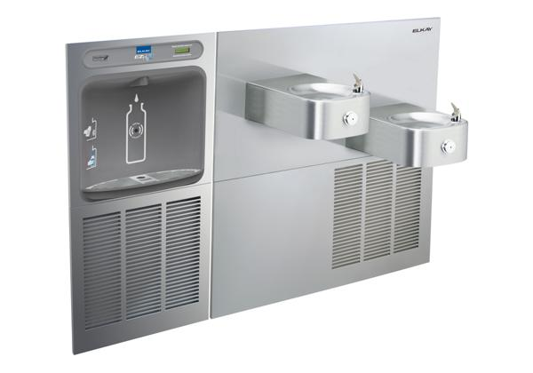 Image for Elkay EZH2O Bottle Filling Station & Soft Sides Bi-Level Fountain, Non-Filtered 8 GPH Stainless from Elkay Latin America