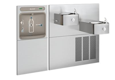 Image for Elkay EZH2O Bottle Filling Station & Soft Sides Bi-Level Fountain, Non-Filtered 8 GPH Stainless from ELKAY