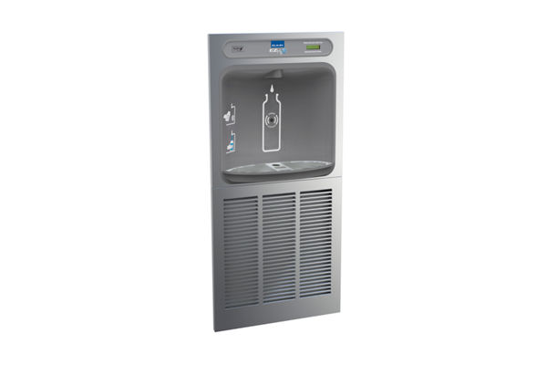 Elkay EZH2O Bottle Filling Station In-Wall Non-Filtered 8 GPH, Stainless 220V