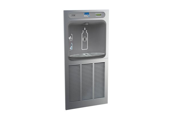 Image for Elkay EZH2O In-Wall Bottle Filling Station, High Efficiency Non-Filtered 8 GPH Stainless from Elkay Latin America