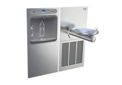 Image for Elkay EZH2O Bottle Filling Station & SwirlFlo Single Fountain, High Efficiency Non-Filtered 8 GPH Stainless from ELKAY