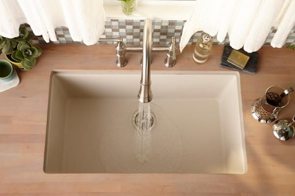 Marvelous Elkay® Manufacturing Company Introduces E Granite™ Sink Line Extension