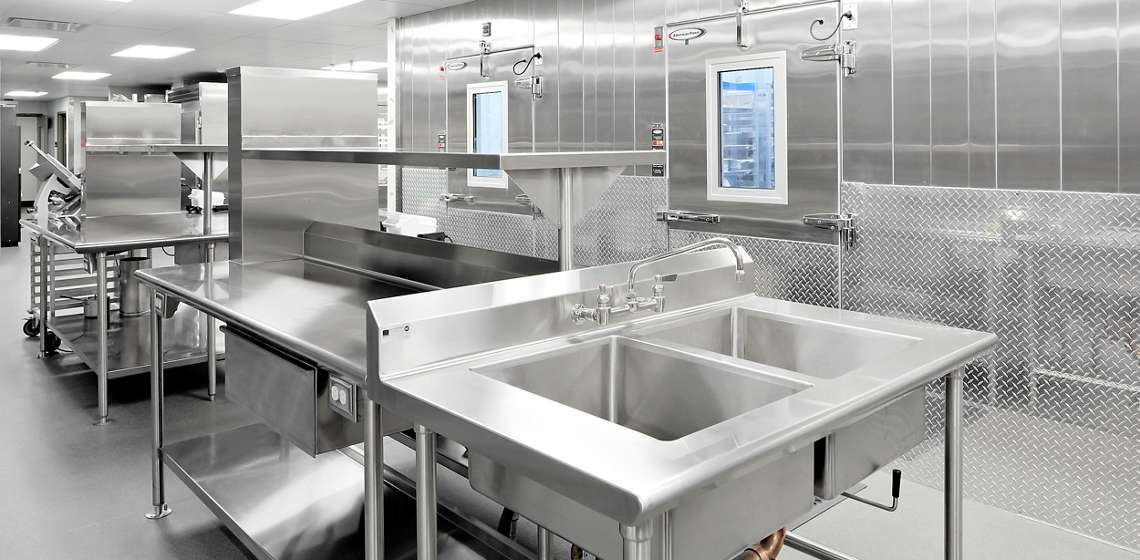 Restaurant Equipment Sinks Tables Storage Elkay Foodservice - Restaurant prep table with sink