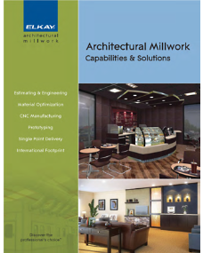 Furniture + Millwork Brochure (F-4564)