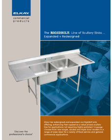 Rigdbilt Line of Scullery Sinks (F-4303)