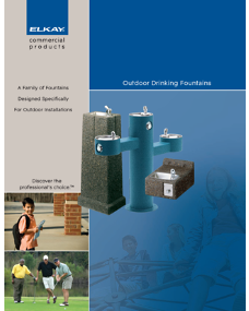 Outdoor Drinking Fountains (F-4305)