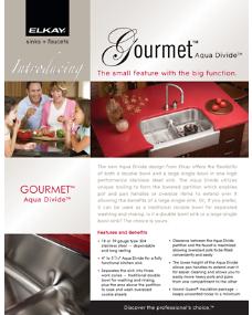 2010 Gourmet Aqua Divide Brochure (F-4354)