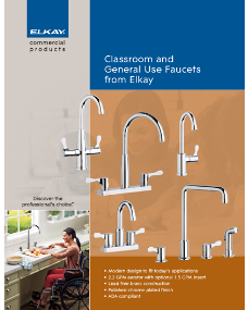 Classroom and General Use Faucets from Elkay (F-4574)