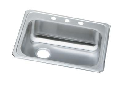 "Image for Elkay Celebrity Stainless Steel 25"" x 21-1/4"" x 5-3/8"", Single Bowl Drop-in Sink from ELKAY"