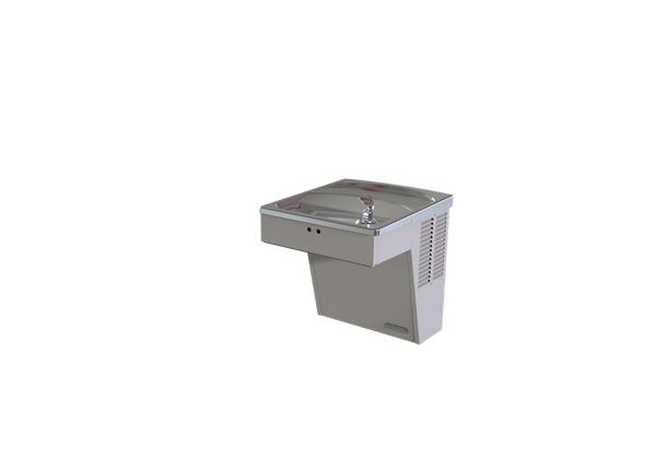 Image for Halsey Taylor Wall Mount ADA Cooler, Hands-Free Non-Filtered 8 GPH Platinum Vinyl from Halsey Taylor