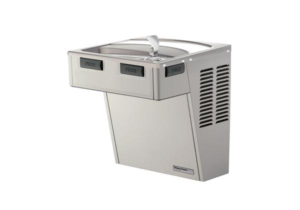Image for Halsey Taylor Wall Mount ADA Cooler, Non-Filtered Non-Refrigerated Platinum Vinyl from Halsey Taylor