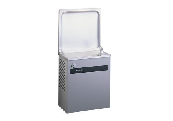 Image for Halsey Taylor Cooler, Wall Mount Semi-Recessed, Non-Filtered, Non-Refrigerated, Platinum Vinyl from Halsey Taylor