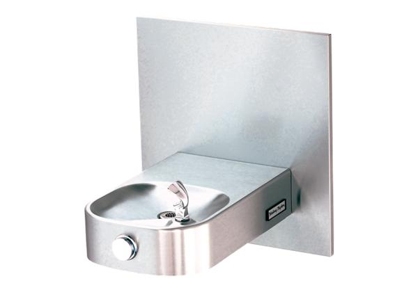 Image for Halsey Taylor Wall Mount Single Fountain, Non-Filtered Non-Refrigerated Stainless from Halsey Taylor