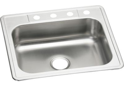 "Image for Elkay Stainless Steel 25"" x 22"" x 7-1/16"", Single Bowl Top Mount Sink from ELKAY"