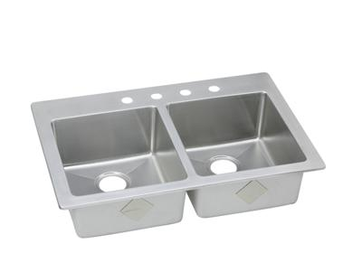 Image for Signature Plus Stainless Steel Double Bowl Dual Mount Sink from ELKAY