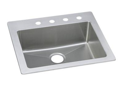 "Image for Elkay Stainless Steel 25"" x 22"" x 8"", Single Bowl Dual Mount Sink from ELKAY"