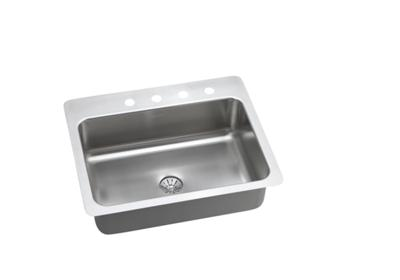 "Image for Elkay Stainless Steel 27"" x 22"" x 8"", Single Bowl Dual Mount Sink with Perfect Drain from ELKAY"