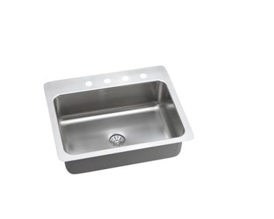 Image for InnerMost Stainless Steel Single Bowl Dual / Universal Mount Sink Kit from elkay-consumer
