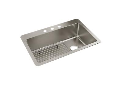 "Image for Elkay Avenue Stainless Steel 33"" x 22"" x 9"" Single Bowl, Dual Mount Sink from ELKAY"