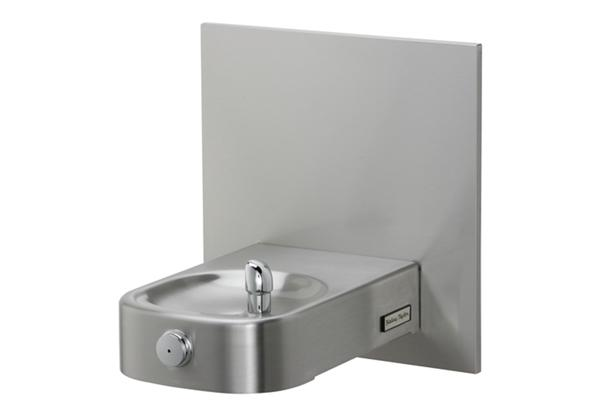 Image for Halsey Taylor Contour Heavy-Duty Single Fountain, Non-Filtered, Non-Refrigerated, Freeze Resistant, Stainless from Halsey Taylor