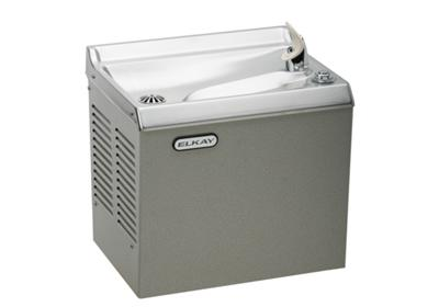 Image for Elkay Cooler Wall Mount Slant Front Non-Filtered, Non-Refrigerated Stainless from ELKAY