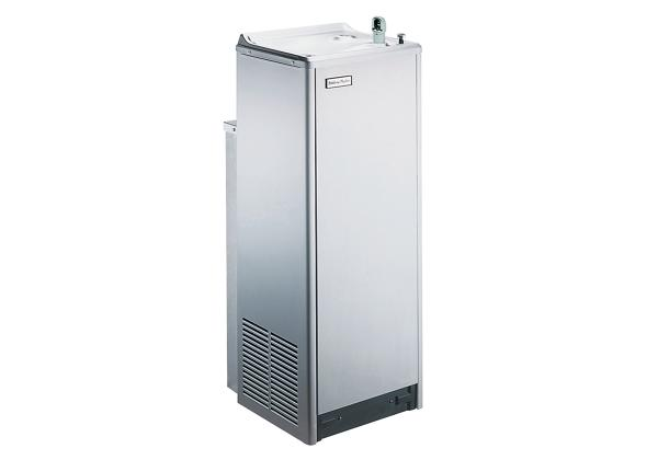 Image for Halsey Taylor Floor Mount Cooler, Non-Filtered 14 GPH Stainless from Halsey Taylor