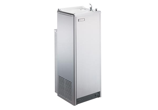 Image for Halsey Taylor Floor Mount Cooler, Frost Resistant Non-Filtered 14 GPH Stainless from Halsey Taylor