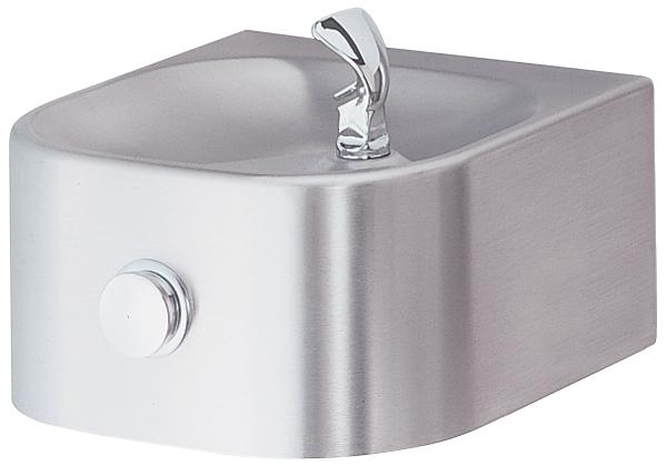 Image for Halsey Taylor Contour Single Fountain, Non-Filtered, Non-Refrigerated, Stainless from Halsey Taylor