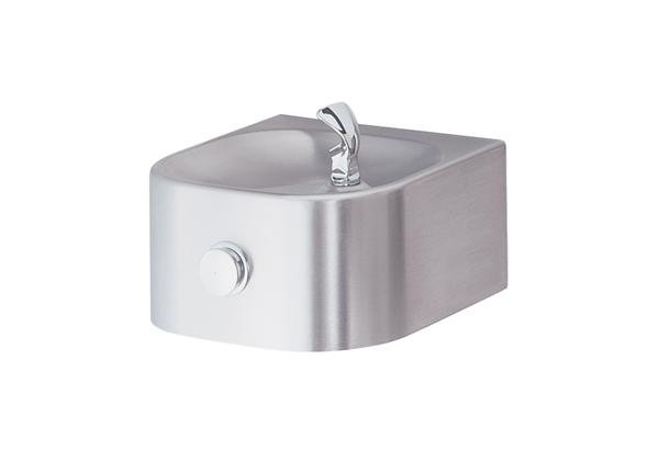 Image for Halsey Taylor Contour Single Fountain, Non-Filtered Non-Refrigerated Stainless from Halsey Taylor