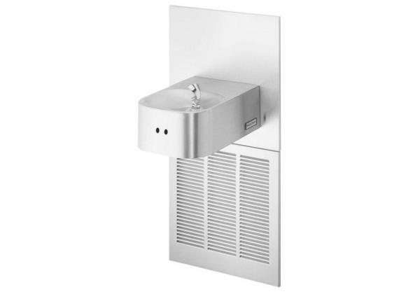 Image for Halsey Taylor Contour Fountain, Hands-Free, Non-Filtered, 8 GPH, Stainless from Halsey Taylor
