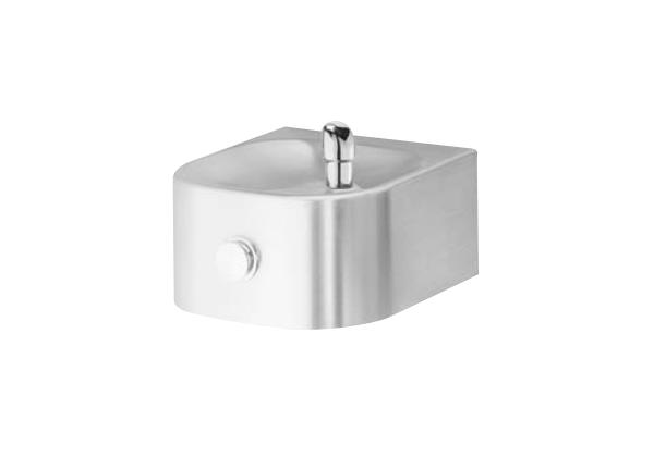 Image for Halsey Taylor Contour Single Fountain, Non-Filtered Non-Refrigerated Freeze Resistant Stainless from Halsey Taylor