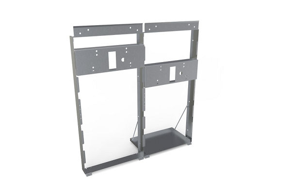Halsey Taylor Mounting Frame for bi-level HRF SER/ESR