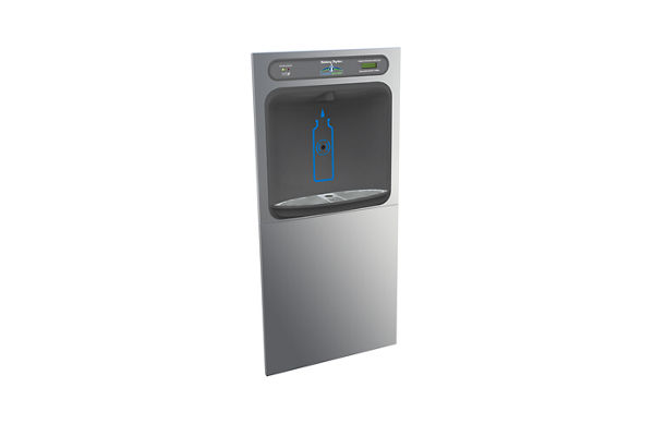 Halsey Taylor HydroBoost In-Wall Bottle Filling Station, Filtered Non-Refrigerated Stainless