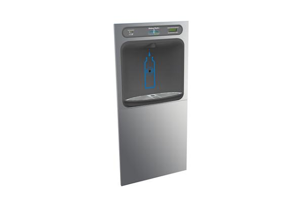 Image for Halsey Taylor HydroBoost In-Wall Bottle Filling Station, Filtered Non-Refrigerated Stainless from Halsey Taylor