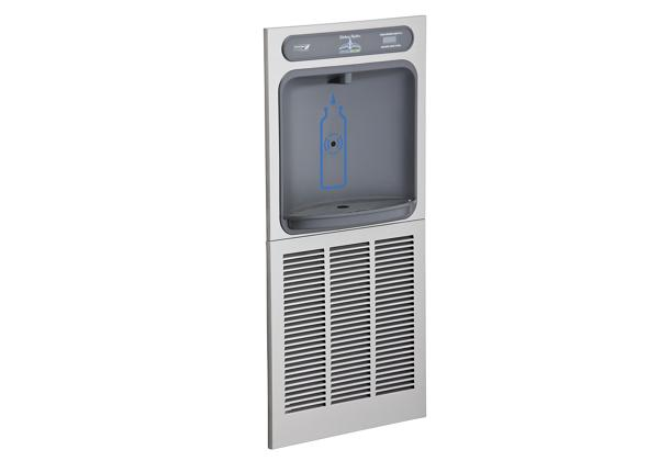 Image for Halsey Taylor HydroBoost Bottle Filling Station In-Wall, Non-filtered, 8 GPH, Stainless from Halsey Taylor