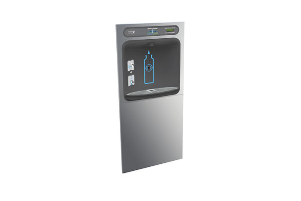 Halsey Taylor HydroBoost In-Wall Bottle Filling Station, Non-Filtered Non-Refrigerated Stainless
