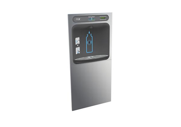 Image for Halsey Taylor HydroBoost In-Wall Bottle Filling Station, Non-Filtered Non-Refrigerated Stainless from Halsey Taylor
