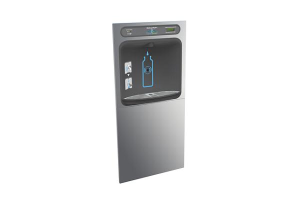 Image for Halsey Taylor HydroBoost Bottle Filling Station In-Wall, Filtered, Non-refrigerated, Stainless from Halsey Taylor