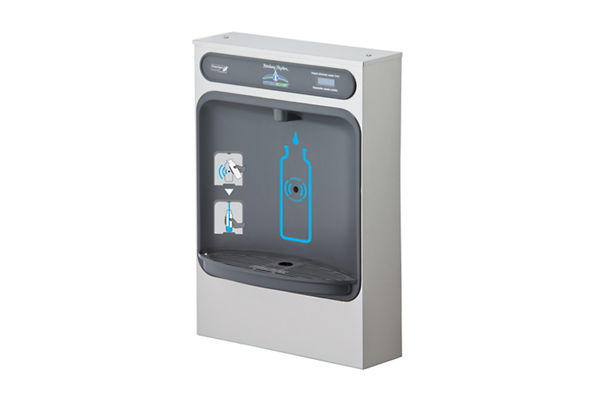 Halsey Taylor HydroBoost Bottle Filling Station Surface Mount, Non-Filtered Non-Refrigerated Stainless