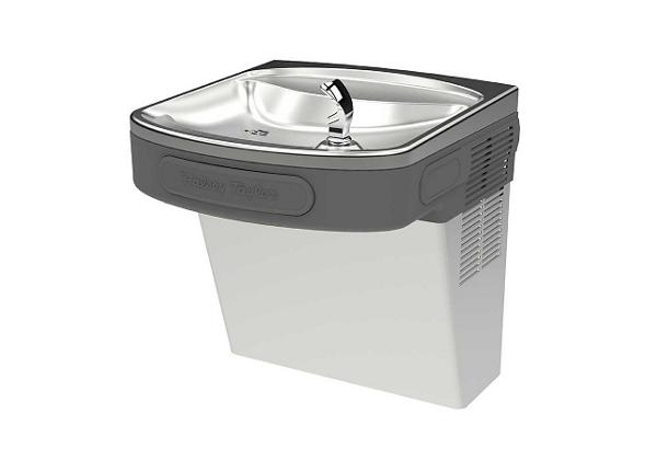 Image for Halsey Taylor Cooler, Wall Mount, ADA, Non-Filtered, Non-Refrigerated, Platinum Vinyl from Halsey Taylor