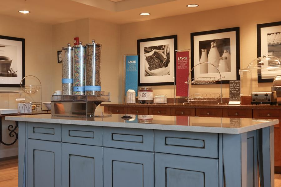 Braselton Hotel Millwork - Breakfast Bar