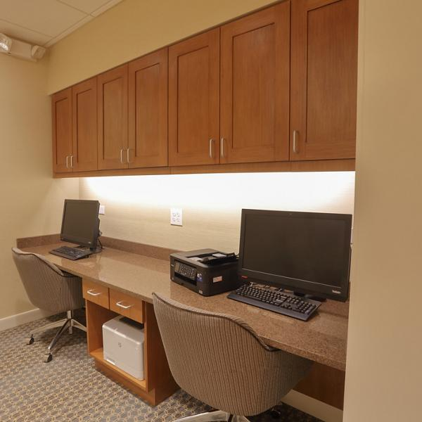 Braselton Hotel Millwork - Business Center