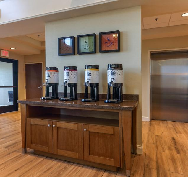 Braselton Hotel Millwork - Coffee Bar