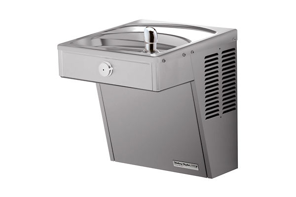 Halsey Taylor Wall Mount Vandal-Resistant ADA Cooler, Filtered 8 GPH Stainless