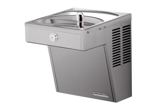 Image for Halsey Taylor Wall Mount Vandal-Resistant ADA Cooler, Non-Filtered Non-Refrigerated Stainless from Halsey Taylor