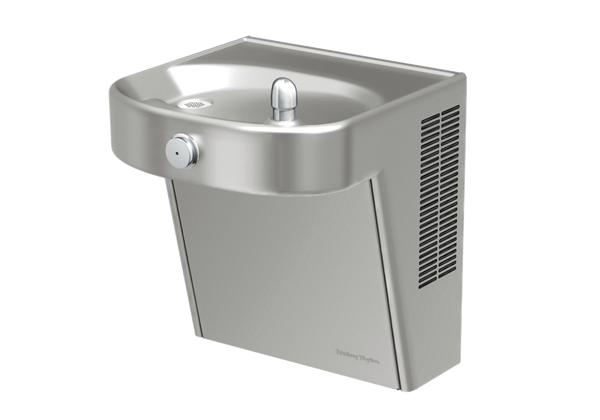 Image for Halsey Taylor Wall Mount ADA Cooler, Filtered Non-Refrigerated Stainless from Halsey Taylor