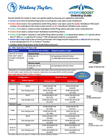 2015-HydroBoost Order Guide (2015)